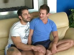 Hot muscle studs Brent and Cayden