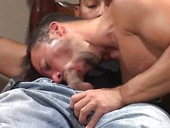Double penetration for Dominik ass