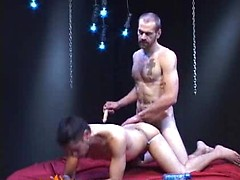 Christian Rock\\\\\\\'s long cock fits well in Frank Young\\\\\\\'s mouth and ...