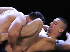 Muscle bound hunk Dominic Jones and super hot jock Connor Kline