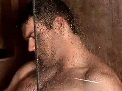 Check out Mitch Bennett debut video showing this stud sudsing up in my shower and working that beautiful uncut cock of his.
