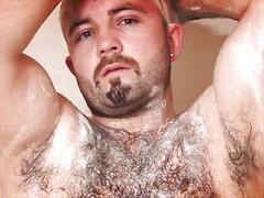 Hairy bear Tommo Hawk solo pics