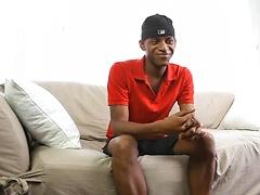 Skinny black boy Nyo