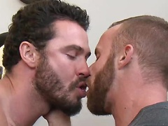Derek Parker Yearns to Feel Jessy Ares' Uncut Cock Deep Inside Him