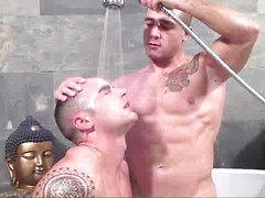 Stag Homme does it again with this beautiful versatile sexplosion between muscle boys Adrian Toledo and David Dirdam...