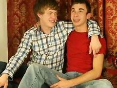 19 year old Jayden is from Tampa and 18 year old Aaron is from Chicago. They are a little shy at first but soon the ...
