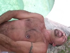 Jason Proud is a hung top with a sexy-ass body and a cock that just keeps growing and growing