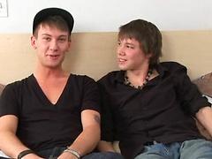 Ashton Hardwell and Justin Lebeau