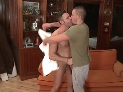 Mateo takes control and flips Tony and plants his cock deep into Toni's hungry hole