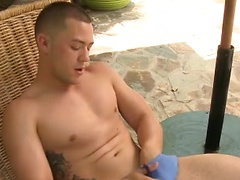 Caleb Strong brings his athletic build, handsome face and big beautiful cock to his Randy Blue debut.