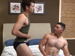 Latin hotties Miguel Temon and Gabriel D'Alessandro return with their equally enormous cocks to deliver a man-sized ...