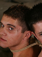 Kenzie and Toby join forces for another dark action - Gay porn pics at GayStick.com