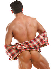 Mucled latino hunk Ali Ganlali - Gay porn pics at GayStick.com