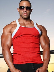 Rico muscled latino man