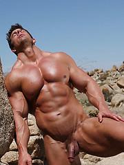 Zeb Atlas posing naked - Gay porn pics at GayStick.com