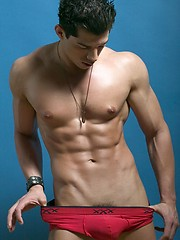 Mario de Leon stripping - Gay porn pics at GayStick.com