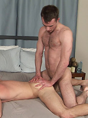 Grant\\\\\\\'s hairy muscle ass gets cock - Gay porn pics at GayStick.com