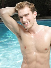 Tristan got incredibly handsome chiseled features and a wide bright smile - Gay porn pics at GayStick.com