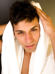 Guest Star Eurasian boy Aladin jerk off - Gay porn pics at GayStick.com