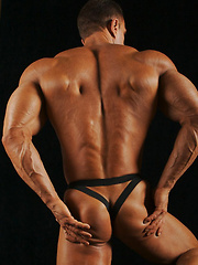 Johnny Cruise shows off his ass in his jockstrap - Gay porn pics at GayStick.com