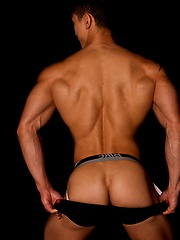 Fantastic jock strap set of this flawless Asian fitness model - Gay porn pics at GayStick.com