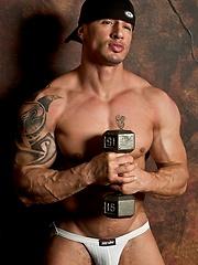 Hot Urban music artist Quentin Elias  poses for Jockbutt - Gay porn pics at GayStick.com