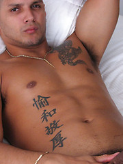 Sexy fitness latino model Joe Torres - Gay porn pics at GayStick.com