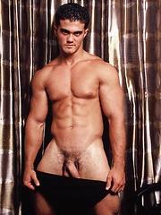 Sexy jock Alain Lamas poses for the camera - Gay porn pics at GayStick.com