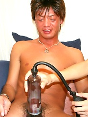 Shota and Tomohero in Penis Pump Boys - Gay porn pics at GayStick.com