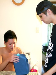 Haruki\\\\\\\'s Cock is as Hard as Iron - Gay porn pics at GayStick.com