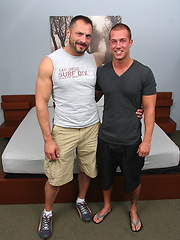 Two muscle guys Arpad and Rod fuck