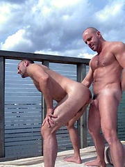 Parker loves his balls pulled and Carlo is an expert in ass play. - Gay porn pics at GayStick.com