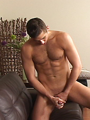 Naked stud plays with own dick - Gay porn pics at GayStick.com