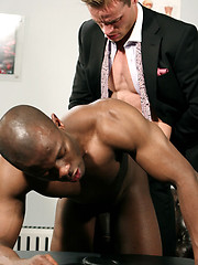 Interracial guys fucking at doctor office - Gay porn pics at GayStick.com
