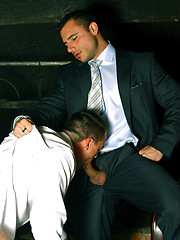 Gay groupsex at office - Gay porn pics at GayStick.com