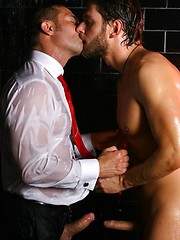 Hard dick in tight hunky backhole - Gay porn pics at GayStick.com