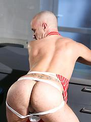 Hairy Man\\\'s Fat Cock - Jack Longo