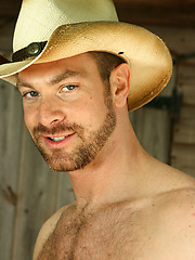 Hairy Cowboys - Dillon Buck and Angus - Gay porn pics at GayStick.com