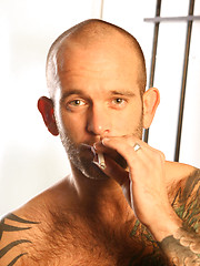 Chris Tower - Tattooed Hairy Man