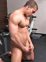 Sexy footbal player Gabriel - Gay porn pics at GayStick.com