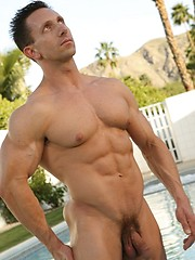Hot strong daddy solo posing - Gay porn pics at GayStick.com