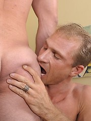 Two gay daddies have wild anal sex