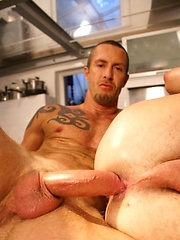 Here the two men get their breakfast fill of each other. - Gay porn pics at GayStick.com