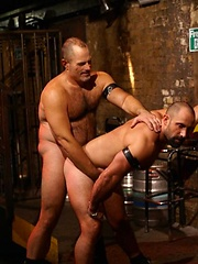 Butch returns for more fun in the Vauxhall leather club - Gay porn pics at GayStick.com