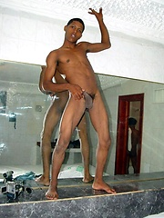 Strip show from dreamboat black boy - Gay porn pics at GayStick.com