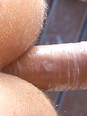 European jocks love each other holes at the summer terrace - Gay porn pics at GayStick.com