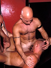3-Ways with the Horniest, Nastiest Muscular Daddies - Gay porn pics at GayStick.com