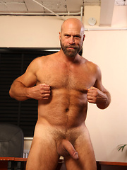 Raw hairy daddies love each other
