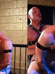 Uncle John taking a big dick up his ass once more - Gay porn pics at GayStick.com