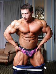 Handsome 20-year old muscle boy Boris Makov  - Gay porn pics at GayStick.com